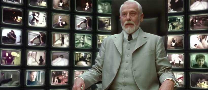 The matrix illuminati movies for Matrix reloaded architect