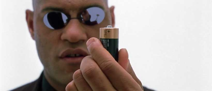 You are a battery.