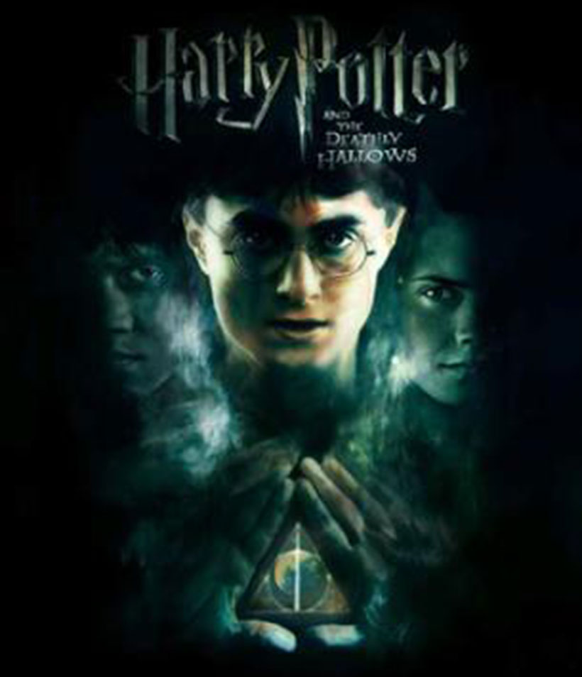 Promotional poster for Harry Potter and the Deathly Hallows