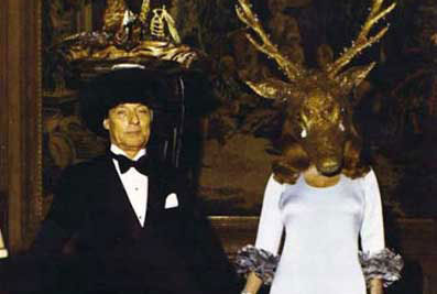 Baron Guy and Baroness Marie-Hélène de Rothschild